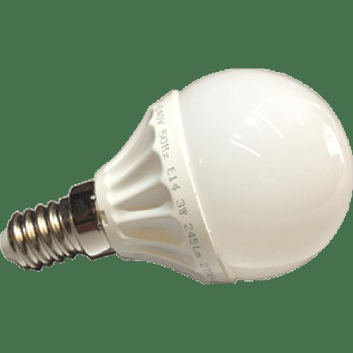 ΛΑΜΠΤΗΡΑΣ LED E14 4W (GLOBE)
