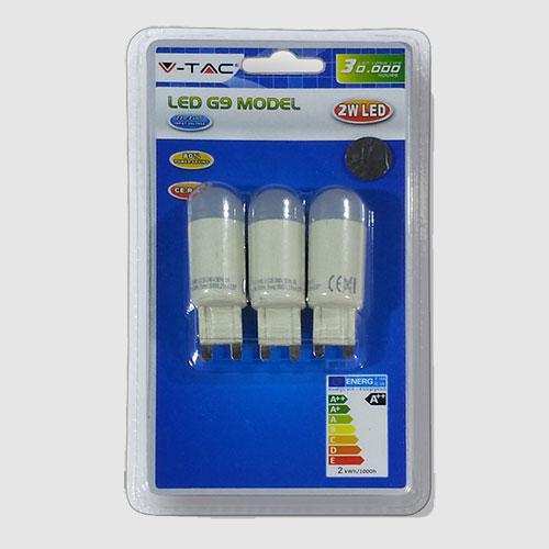 SPOT LED G9 2 WATT EPISTAR BLISTER