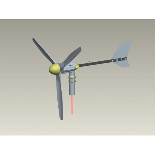 Ανεμογεννήτρια Greatwatt S800 600W / 48 V