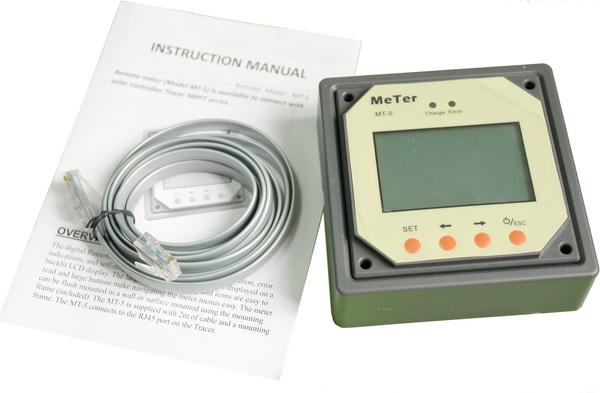 Ψηφιακό όργανο για ρυθμιστές φόρτισης Tracer RN Epsolar ΜΤ-5