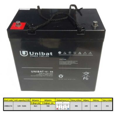 Unibatpower-for-life-VRLA-12V-55AH