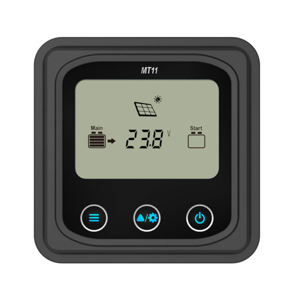 MT-11 Remote Meter for EP Solar MPPT Dual Battery Solar Charge Controller